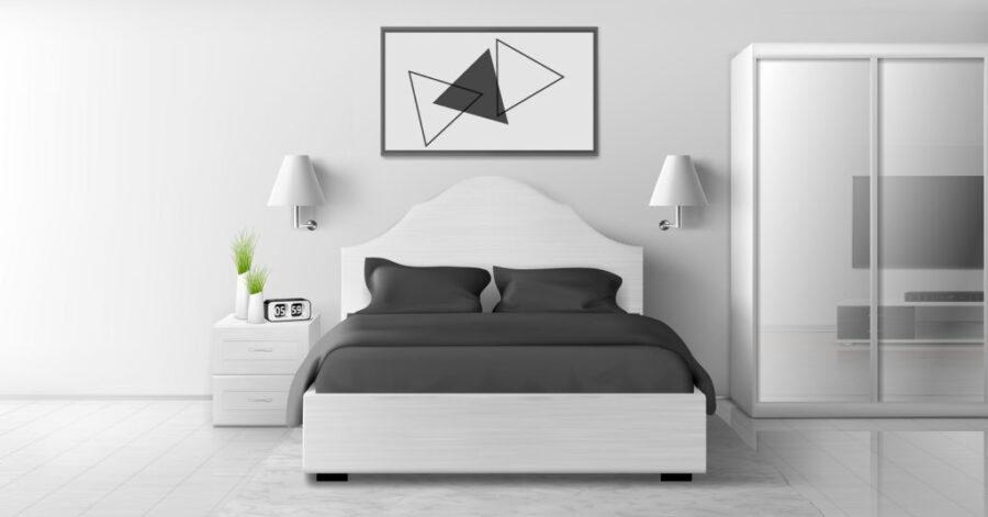 minijaturna spavaca soba
